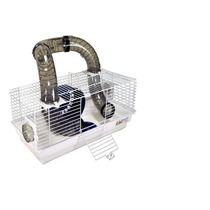Gaiola Hamster Com Tubos Versão Raríssima Limitada