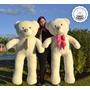 Urso Pelúcia Gigante Alta Qualid Teddy Bear Quase 2 Metros!!
