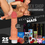Kit Sexyshop Erotico 25u Consolo Pinto Vibrador Sexshop #pv
