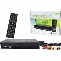 Conversor Digital Slim Tv Smart Gravador Hd Antena Hdmi Rca