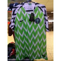 5f38af54cc Camisas de Futebol Camisas de Seleções Masculina Nigéria com os ...