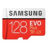 Cartão De Memória Samsung Mb-mc128ga/cn Evo Plus 128gb