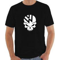 Camiseta Volkswagen Automotiva Caveira 100% Algodão
