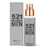 Perfume 521 Number Man 15ml Inspiração 212 Men