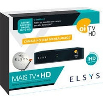 5 Receptores Elsys Oi Tv Livre Hd Etrs35 Frete Gratis!!