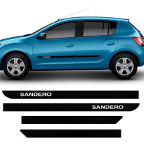 Friso Lateral Renault Sandero Novo 2015 Tipo Borrachão