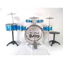 Bateria Infantil Musical 6 Tambores 3 Pratos - Especial