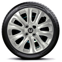 Calota Jogo 4pçs Civic Fit City Honda Prata Aro15 229j