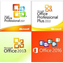 Kit Microsoft Office 2007 2010 2013 E 2016 Envio Imediato