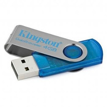 Pen Drive Kingston De 4 Gb Alta Capacidade Usb 2.0
