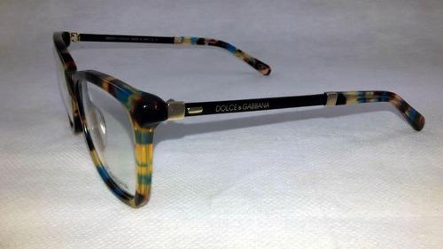 Armação Feminino Dolce Gabbana Oculos Grau Importado Acetato. Preço  R  121  49 Veja MercadoLibre 892b86d5b8