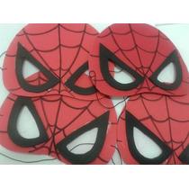 Mascara Homem Aranha Aniversário Kit C/ 10 Uni