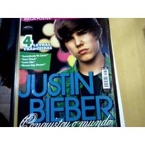 Revista Poster Justin Bieber Nº230 Conquistou O Mundo