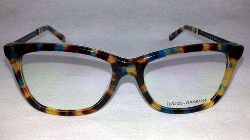 Armação Feminino Dolce Gabbana Oculos Grau Importado Acetato - R ... 0f931a1292