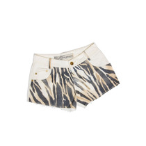 Shorts Degrant Sarja Zebra Off White