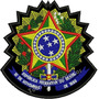Patch Bordado Brasão Republica Fed. Do Brasil 11x11cm Bra45