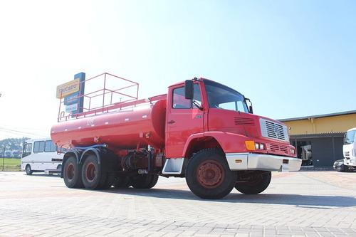MB 1621 1992 TRUCADO 6X2 PIPA 15M³ RARIDADE