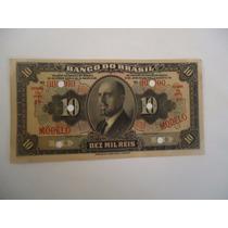 Cédula Modelo De 10 Mil Reis(banco Do Brasil)