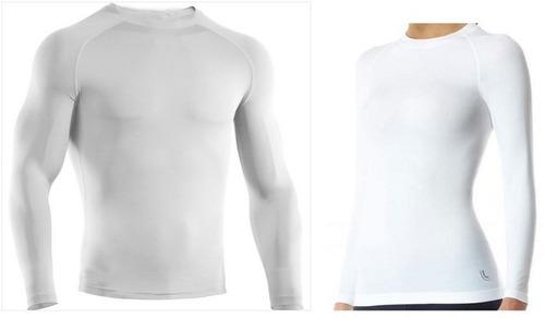Comprando 4 Frete Grátis Camisa Térmica Proteção Solar Uv