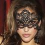 Mascara Sexy Facial Veneziana Carnaval Erótica Em Renda