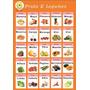 Banner Kissbaby Imagens De Educação Infantil 65cm*48cm Fruta