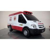 Ambulância Do Samu 192 - Van