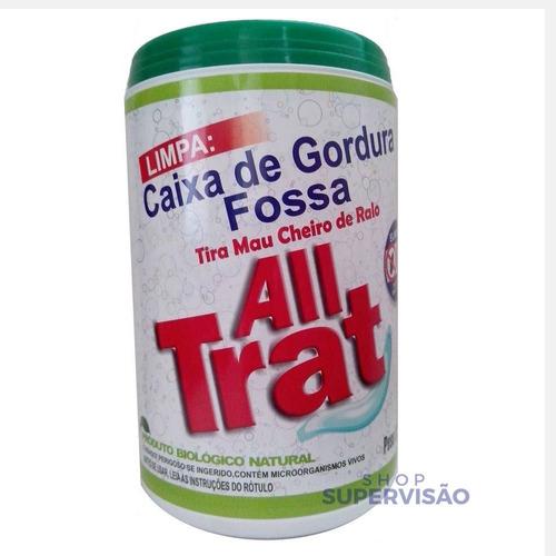 All Trat 500g Limpa Fossa Caixa De Gordura Enzimas Promocao