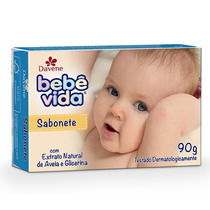 Sabonete Davene Bebe Vida De Aveia E Glicerina 90 Gramas