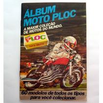 Álbum De Figurinhas Moto Ploc - Completo - Ano 1975