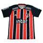 Camisa São Paulo 2019 Jogo Listrad Camiseta Masculino Treino