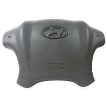 Tampa Volante Cinza Buzina Airbag Hyundai Tucson 2.0 2.7 16v
