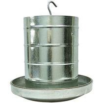Comedouro Tubular Aves 15kg Prato Aluminio Zatti