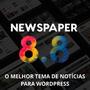 Tema Wordpress Portal De Noticias Newspaper V8.8.1 Ativado