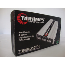 Modulo Amplificador Taramps Ts 800x4 Canais 800wrms 1 Ohm