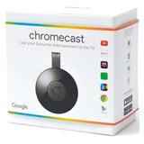 Google Chromecast  Hdmi Original 1080p Netflix Na Caixa +nf