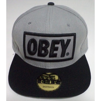 Promoção - Boné Obey Cinza - Fotos Originais