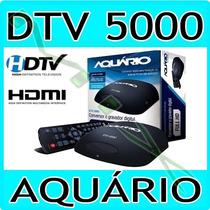 Conversor Digital Aquario Dtv-5000 Slim - Hdmi Com Gravador