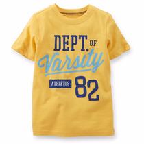 Camisa Infantil Carters Original Importado Eua -8 E 10 Anos
