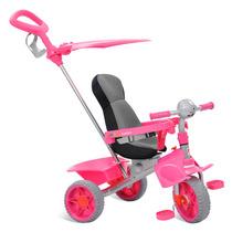 Triciclo Smart Confort Rosa - Bandeirante