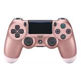 Controle Joystick Sony Dualshock 4 Rose Gold