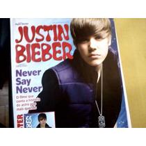 Revista Poster Justin Bieber Nº03 Never Say Never