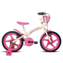 Bicicleta Aro 16 Fofys Rosa