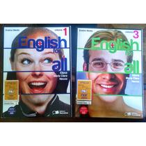English For All - Eliana, Maria Clara, Neuza - Volumes 1 E 3