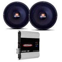 Woofer 8 Pol 8mg600 300 Watts Jbl + Modulo Amplificador 700w