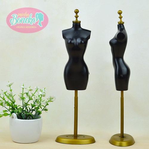 cba87abe3 Comprar Manequim De Luxo Para Vestido E Roupa Da Boneca Barbie - Apenas R$  24,00 - Aprender Para Vencer