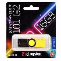 Pendrive 16gb Kingston Garantia 5 Anos Dt101g2 Data Traveler