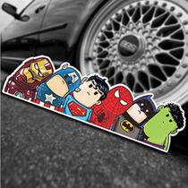 Adesivo Carro Automotivo Super Heróis Marvel 34598