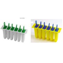 Forma Sorvete Plastica Para 6 Sorvetes 9x2cm Pag 1 Leve 2