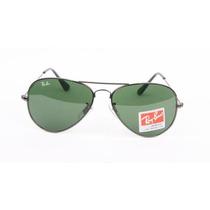 Óculos Ray-ban Original Aviador Rb3025 Grafite Clássico G15