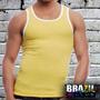 Camiseta Regata Colegial - 100% Algodão - Tipo Exportação